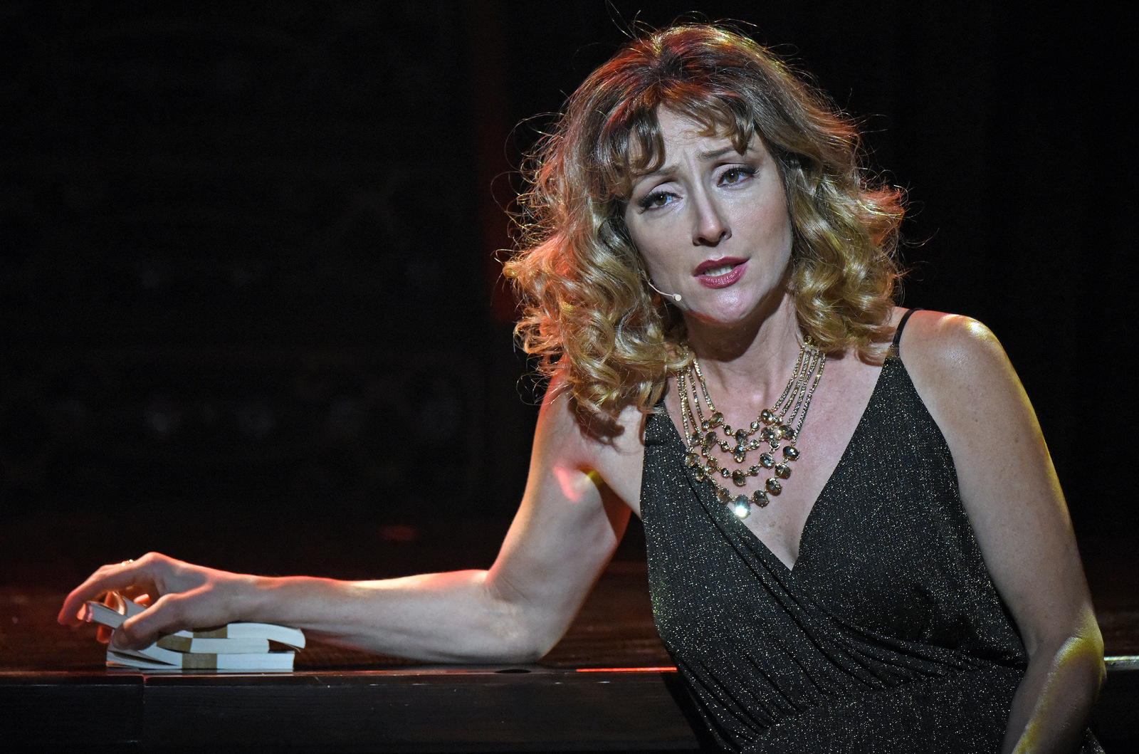 For The Record: Scorsese – American Crime Requiem at the Wallis Annenberg Center for the Performing Arts. Pictured: Carmen Cusack. Photo credit: