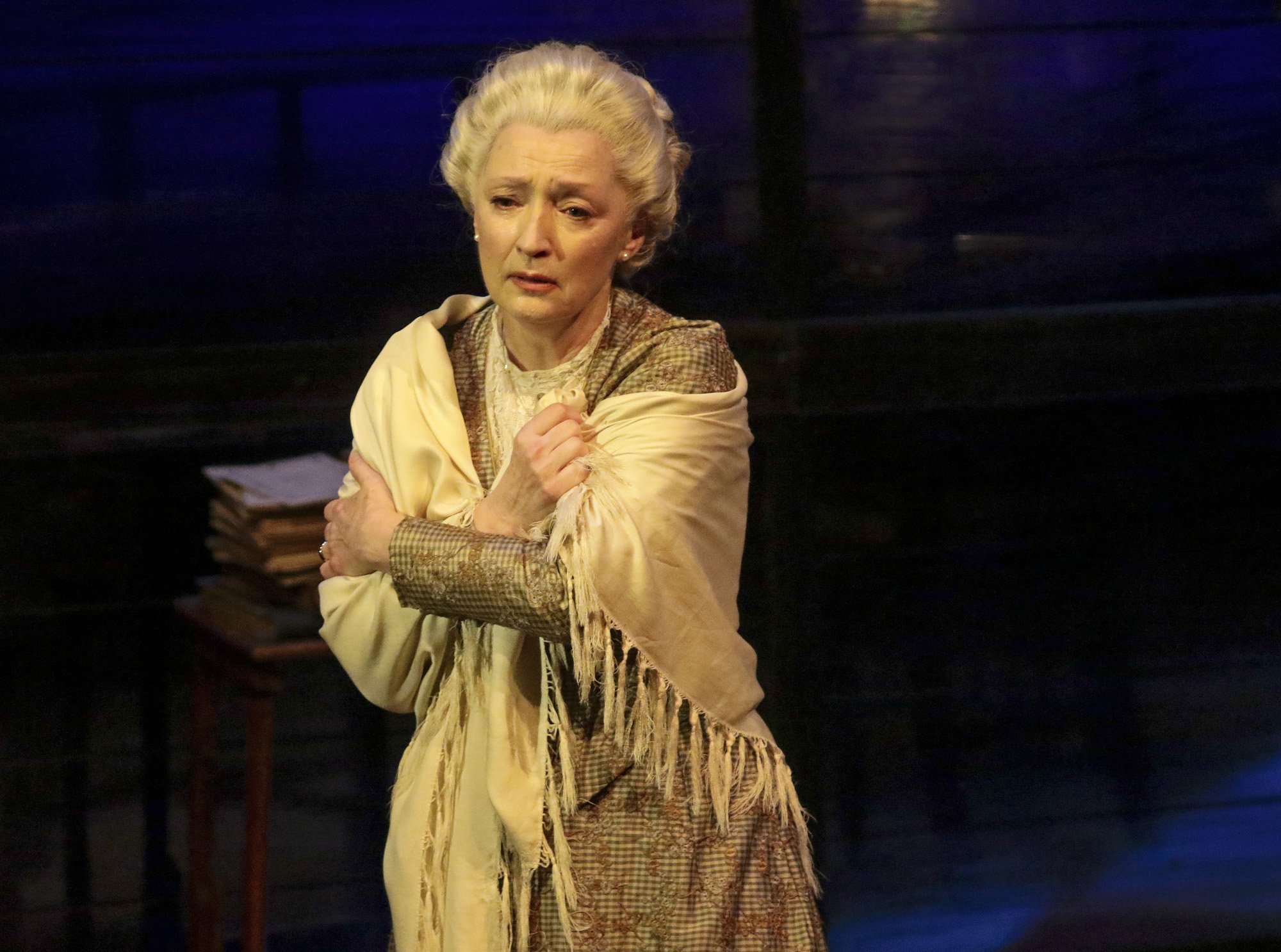 Lesley Manville (Mary Tyrone). PHOTO CREDIT: Lawrence K. Ho