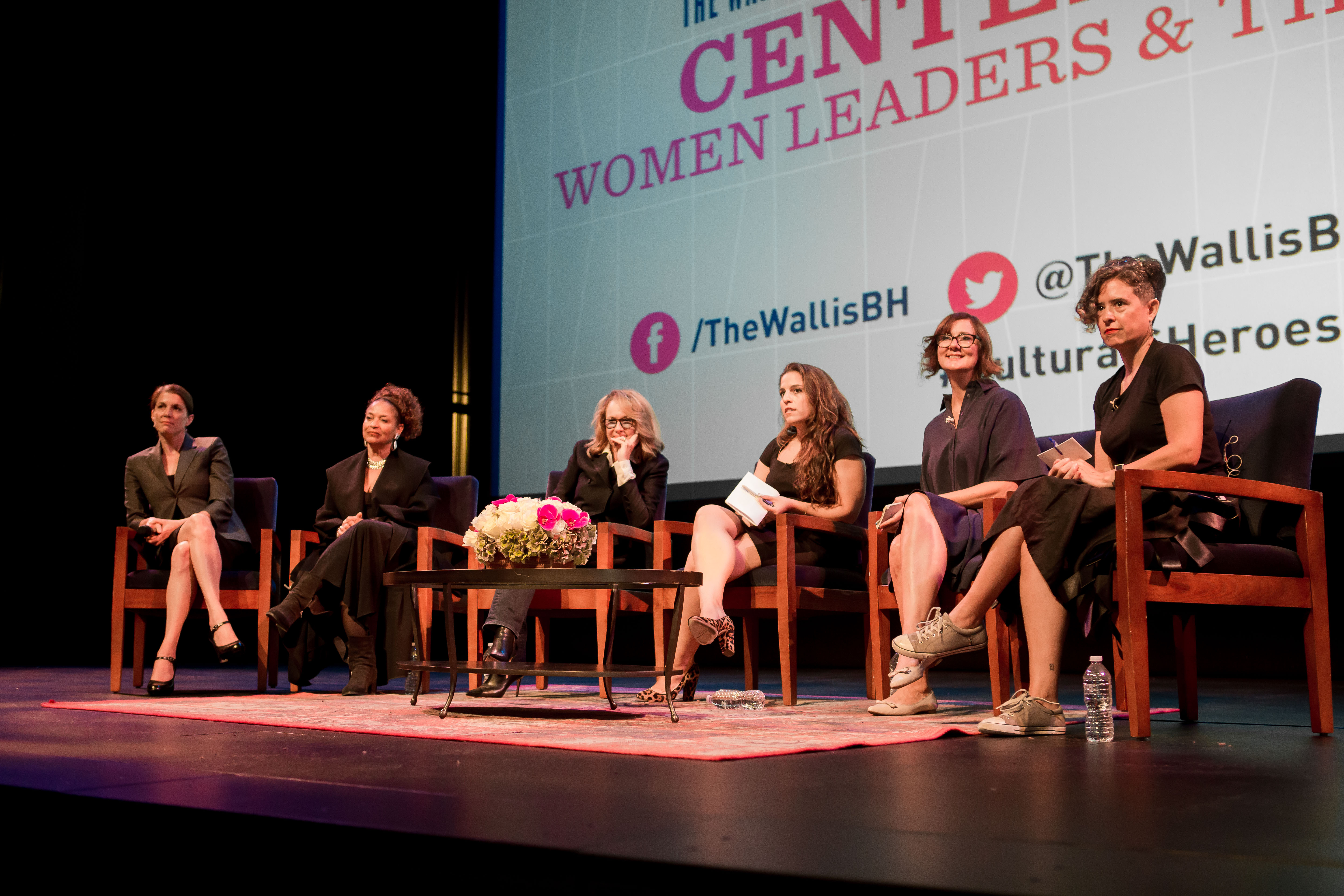 Center Stage: Women Leaders & The Arts. 2018.