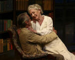 Lesley Manville (Mary Tyrone), Jeremy Irons (James Tyrone). PHOTO CREDIT: Lawrence K. Ho